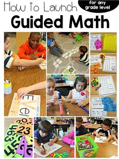 launching guided math, start guided math, starting guided math, how to start… Math Rotations, Math Centers, Daily 3 Math, Daily 5, Second Grade Math, Third Grade, Grade 2, Guided Math Groups, Math Activities