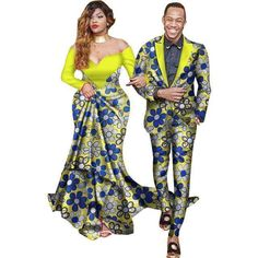 African Suits, Men Women Suits, Dashiki Kitenge Couple Suits Clothing Type: Africa Clothing, Couple Suits Material: Cotton Special Use: Traditional Clothing Type: couple suits Pattern: Stamp African Fashion Designers, Latest African Fashion Dresses, African Print Dresses, African Print Fashion, Africa Fashion, African Dress, Ankara Fashion, African Fabric, African Style Clothing