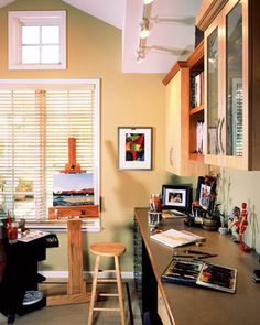 Home Office Photos Art Studio Design Pictures