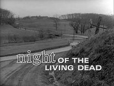 """Night of the Living Dead"" is an American independent horror and cult film directed by George A. Romero and starring Duane Jones, Judith O'Dea and Karl Hardm. Zombie Movies, Scary Movies, Good Movies, Movie Titles, I Movie, Movie Posters, Night Of Living Dead, George Romero, Actresses"