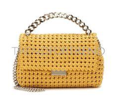 Designer Clothes, Shoes & Bags for Women Yellow Purses, Yellow Handbag, Brown Purses, Stella Mccartney Handbags, Yellow Shoulder Bags, Shoulder Handbags, Purses And Bags, Brown Handbags, Brown Brown
