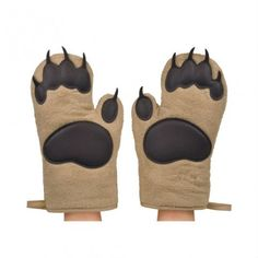 Bear Hands Oven Mitts! Get it here -->   http://geni.us/1K6M