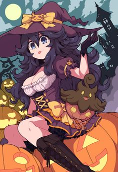 See more 'Hex Maniac' images on Know Your Meme! Halloween Themes, Happy Halloween, Tg Tf, Pokemon Fan Art, Know Your Meme, Anime Shows, Fire Emblem, Best Funny Pictures, Manga
