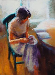 Marla Baggetta (pastel on Wallis board)