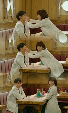 They secretly dating Hospital Ship