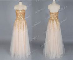 affordable prom dress, gold prom dresses, long prom dresses, peach home coming dresses, prom dresses, evening dresses, BE0434 on Etsy, $176.00