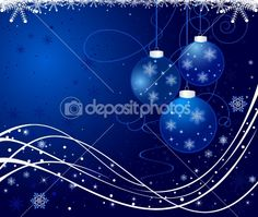 Christmas background vector by vanias - Stock Vector