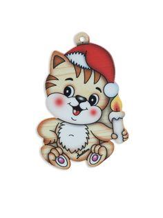 Colored Decoration - Cat