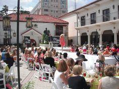 Couture in the Courtyard 2012    http://southfloridamuseum.com in Bradenton, Florida