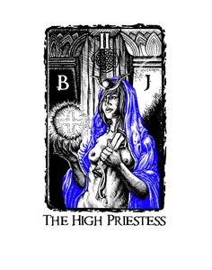 The High Priestess by James-Anderson