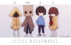 "@six_the_muw on Instagram: ""credits for🎨( twitter): little_sunny32 #littlenightmaresfanart #littlenightmaressix #littlenightmarescomic #littlenightmaresseven…"" Little Nightmares Fanart, Quantic Dream, Bad Dreams, Found Art, Cute Chibi, Electronic Art, Indie Games, Hetalia, Character Art"