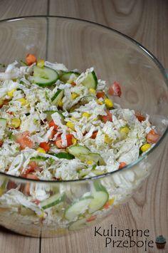Polish Recipes, Cobb Salad, Salad Recipes, Potato Salad, Salads, Cooking Recipes, Meals, Fresh, Ethnic Recipes