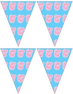Free to use and free to share for personal use only. Peppa Pig Banners.