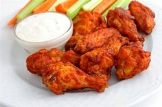 Paleo Hot Wings (Dairy & Gluten-Free) These were so yummy...perfect for our Super Bowl snack!
