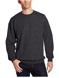 Looking for Hanes Men's Ultimate Cotton Heavyweight Crewneck Sweatshirt ? Check out our picks for the Hanes Men's Ultimate Cotton Heavyweight Crewneck Sweatshirt from the popular stores - all in one. Hooded Sweater, Fleece Hoodie, Crew Neck Sweatshirt, Men Sweater, Sweatshirts Online, Outdoor Gear, Casual Shirts, Active Wear, Mens Tops