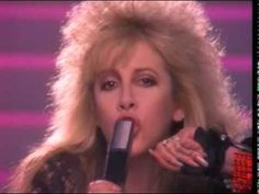 Stevie Nicks rocks and I love 80s cheese.  I Can't Wait (Official Video)