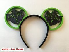 Long Live Maleficent. Product Details: - 3D printed IllusionEars design - features Long Live Maleficent logo on both ears, front and back - optional ribbon bow (see other listings for pictures) If you choose to add a bow, please leave your color preference in the notes to seller.