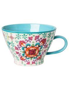 PLAIN AKVARELL mug turquoise. Another gorgeous Indiska mug