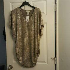 Shirt Shimmer knit top Forever 21 Tops Tunics