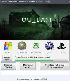 outlast 2 key generator