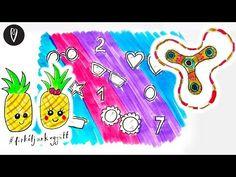 (207) Fidget Spinner és társai! - Firkáljunk együtt   INSPIRÁCIÓK Csorba Anitától - YouTube