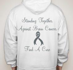 Standing Together Against Brain Cancer Fundraiser - unisex shirt design - small - back