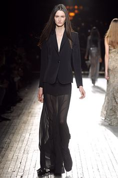 theyskens' theory fall 2012 >> obviously i'm a huge sucker for sheers.