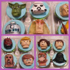 Lego Star Wars cupcake topper