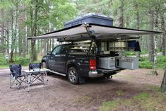 Ready Two – pick-up-and-go.ch Ready Two – pick-up-and-go.ch,diy truck canopy ideas Ready Two – pick-up-and-go. Pickup Camping, Truck Bed Camping, Truck Tent, Minivan Camping, Vw Camper, Camper Trailers, Canopy Outdoor, Canopy Tent, Canopy Bedroom