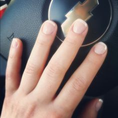 Nothing is better than a good French nail polish after being in a bad mood ;)