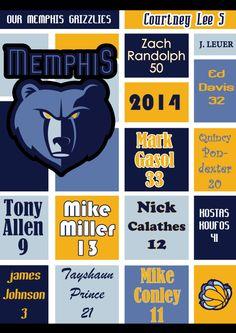 LOVE my Memphis Grizzlies!