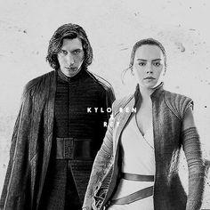 Dark and Light Kylo Ren & Rey
