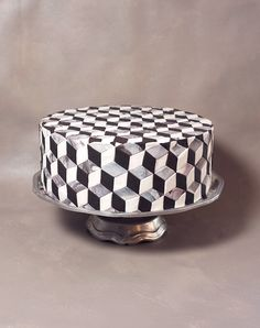 Alana Jones-Mann Tile Cake Pattern