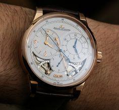 Jaeger-LeCoultre Duomètre à Chronographe Watch Review