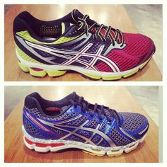 Asics Gel Kayanos - absolutely the BEST ride for a running shoe! I've been faithful to these for almost as long as theyv'e been out!