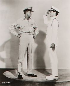 Cary Grant and Tony Curtis in Operation Petticoat. I love this movie!