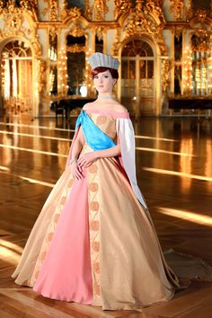 I always wanted the crown, not the dress so much, but this is a very impressive duplicate of it all.  Anastasia - childhood-animated-movie-heroines Photo