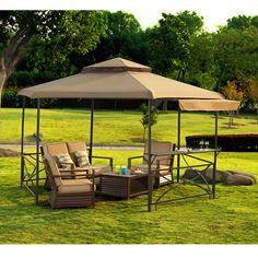 Crawford 13 Ft. W x 11 Ft. D Steel Gazebo