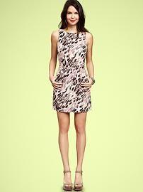 Printed sheath dress - now on sale!