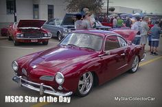 MSCC Star of the Day--Karmann Ghia at a show in early June.Read more: http://www.mystarcollectorcar.com/3-the-stars/40-model-stars/2371-mscc-southside-star-of-the-day.html