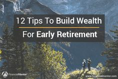 Early retirement planning guide teaches you how to build wealth. Includes 12 investment strategies and financial planning tips to retire early and wealthy. Retirement Advice, Saving For Retirement, Early Retirement, Retirement Planning, Financial Planning, Retirement Savings, Plan Canada, What Is Success, Pension Fund