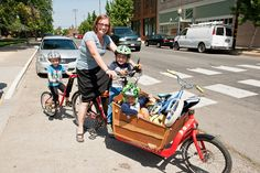 Big Brother was an old hat at it, already riding the route once before but this. Bullitt Cargo Bike, Trail Riding, Cyclists, Baby Strollers, Bicycle, Steel, Modern Kitchens, Bicycles, Kids