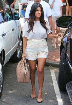Kourtney Kardashian rocks her ASOS shorts in the Hamptons http://asos.to/1nZQXIl