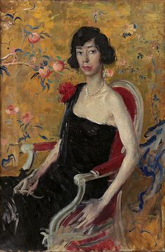 by Augustus John (British 1878–1961)...anyone know who this is?