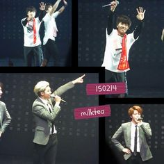 BTS @ 150214 Wake up tour in Osaka