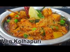 Veg Kolhapuri Recipe In Hindi | My Kitchen My Dish | English Subtitles - YouTube