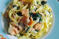 one pot pasta saumon epinards