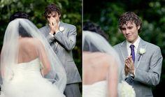 Homem também chora: 24 noivos emocionados ao verem suas noivas