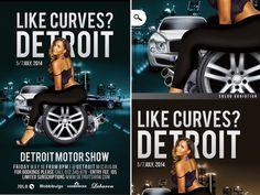 Like Curves In Detroit Motor Show