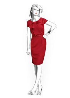 Naaipatroon jurk korte mouw